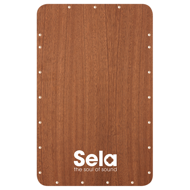 Sela Quick Assembly Kit Playing Surface - Sapele Veneer Replacement Frontplate for SE037