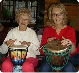 Djembe Drum Players