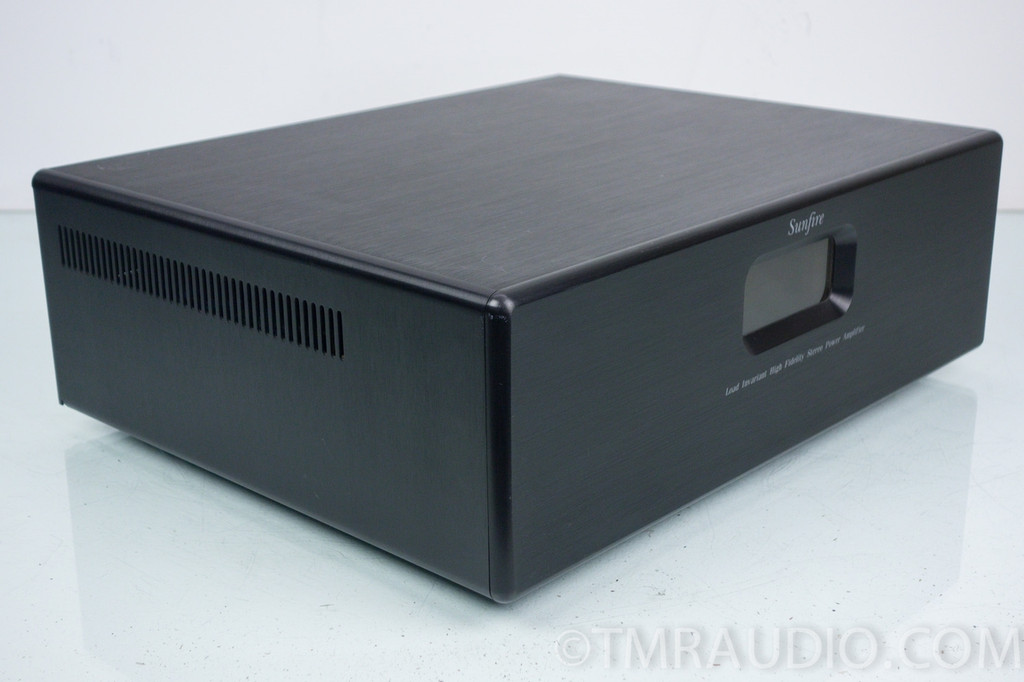 audio cabinet sunfire load invariant stereo power amplifier 300w x 2 10793