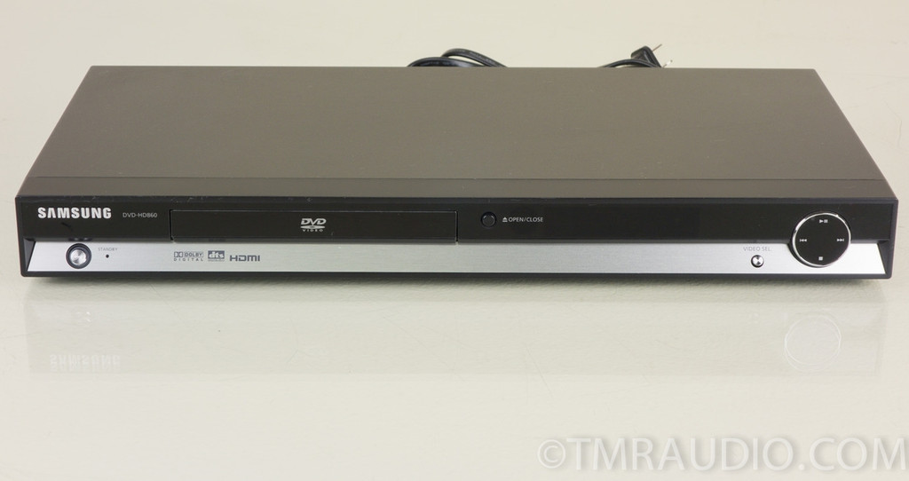 samsung dvd hd860 cd dvd player the music room. Black Bedroom Furniture Sets. Home Design Ideas