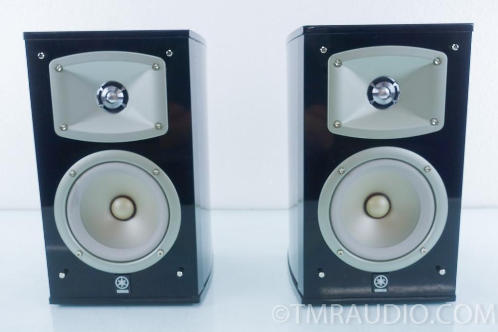 yamaha ns 333 bookshelf speakers pair black the music room. Black Bedroom Furniture Sets. Home Design Ideas