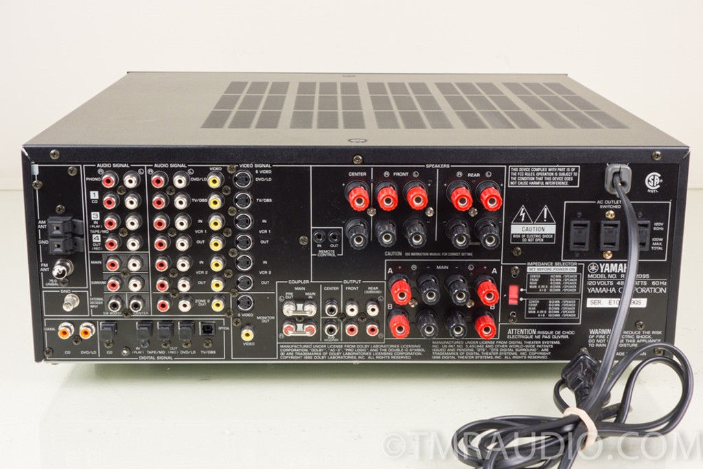 Yamaha Rx V2095 Home Theater Receiver In Factory Box The