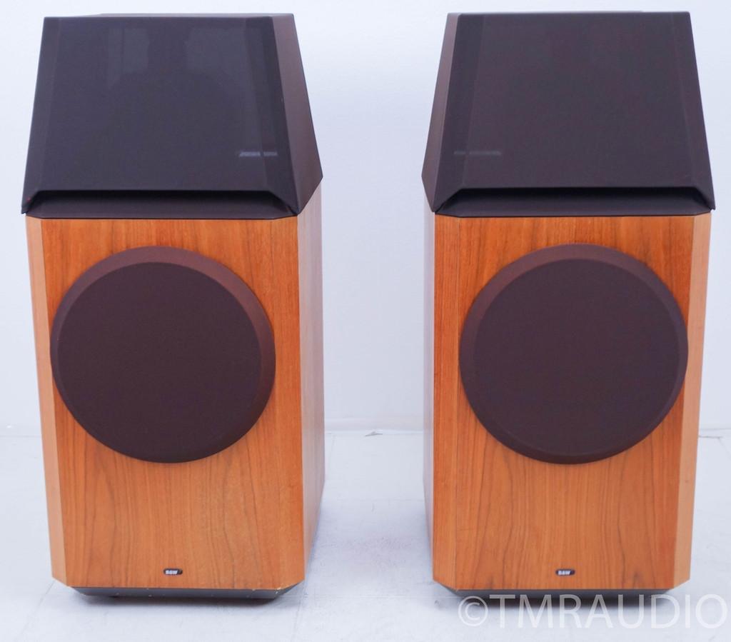 B&W 801 Series 80 Monitor Loudspeakers; Walnut Pair; One Owner