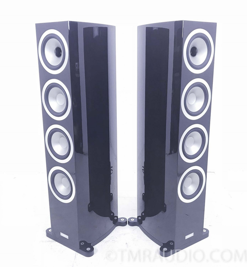 Tannoy Precision 6.4 Floorstanding Speakers; High Gloss Walnut Pair