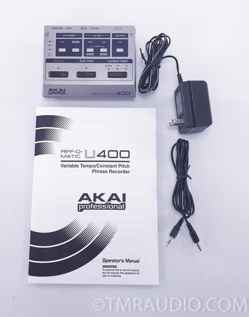 Akai U400 Riff-O-Matic Variable Tempo Phrase Sampler