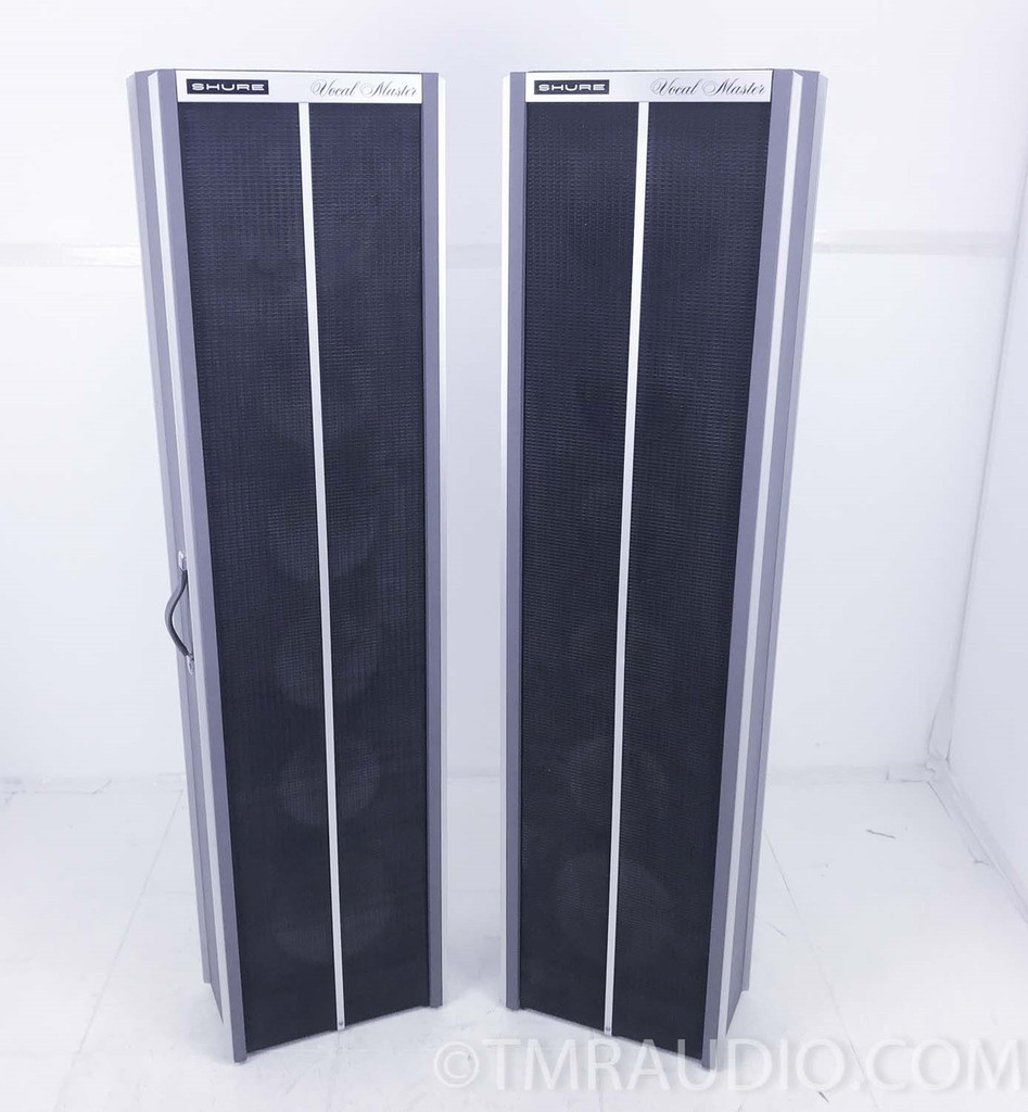Shure Vocal Master PA System; Amplifier; Speakers; Stand 300-S; 302-C