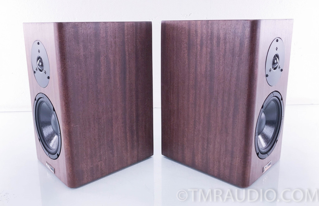Tyler Acoustics Halo 4 Bookshelf Speakers; Mahogany Pair