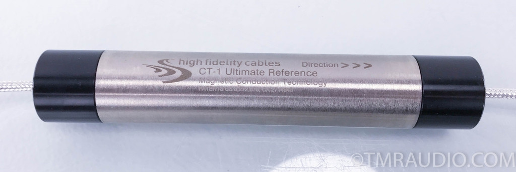 High Fidelity Cables CT-1 Ultimate Reference RCA Cables; 6M Pair Interconnects