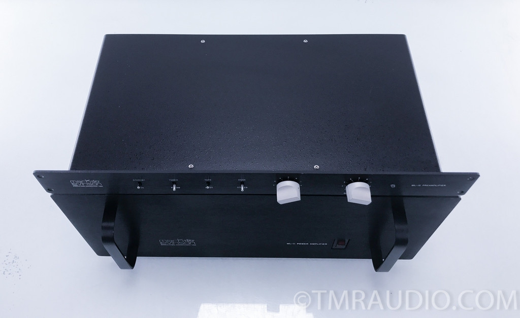Mark Levinson ML-11 Amplifier & ML-12 Preamplifier w/Phono