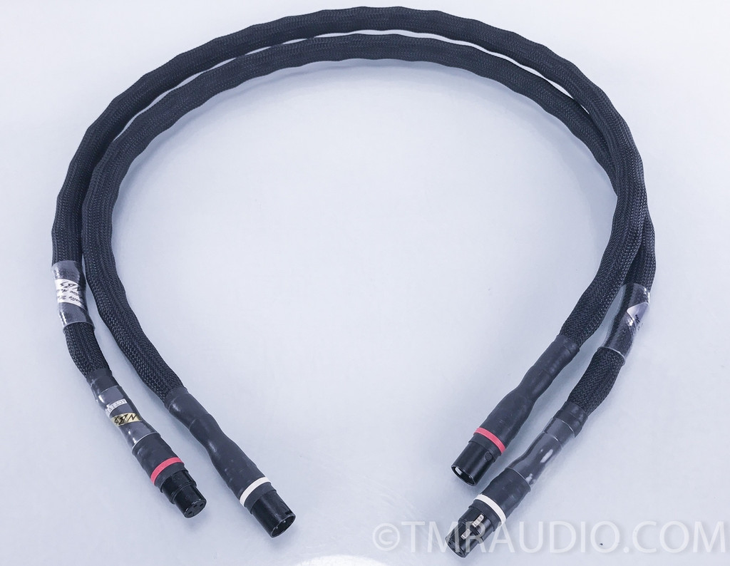 NBS Cable Omega 1 (Active-1) XLR Cables; Pair 4 ft. Interconnects