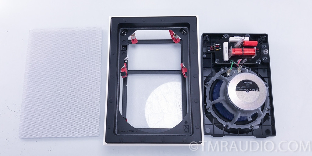 B&W CWM663 in-ceiling Speaker; White (each)