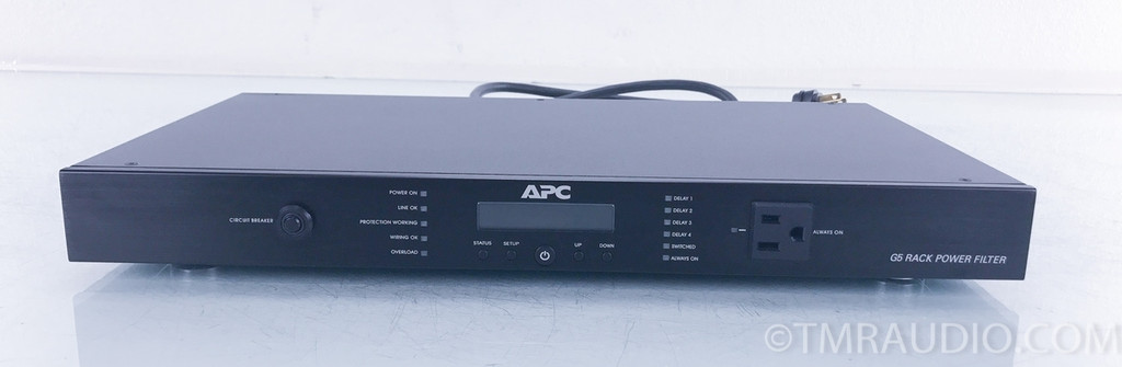 APC G5 Power Filter; Black