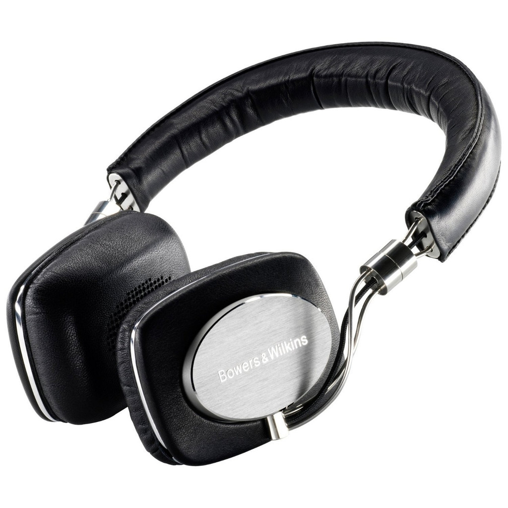 B&W P5 On-Ear Headphones; Black; Bowers & Wilkins