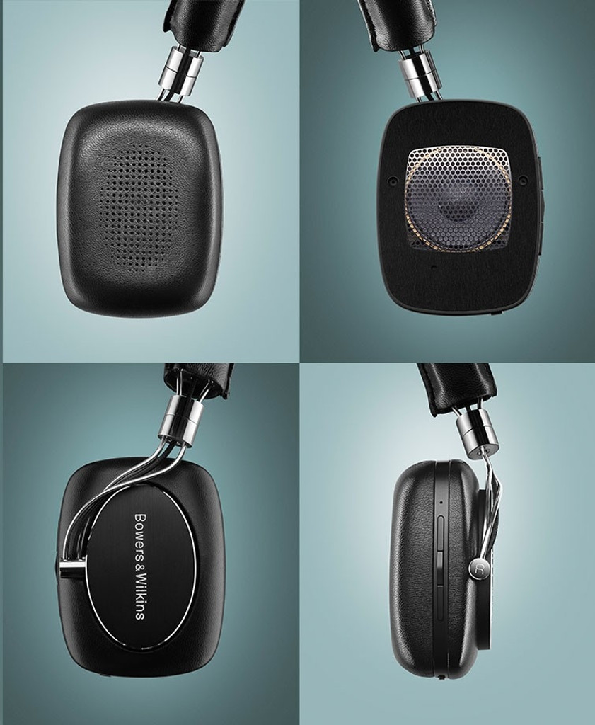 B&W P5 Wireless On-Ear Bluetooth Headphones; Black; Bowers & Wilkins (New)