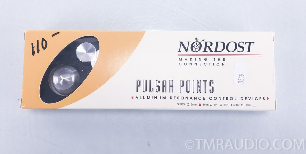 Nordost Pulsar Points Isolation Feet; Set of 4 w/ 8mm Connectors (SOLD)