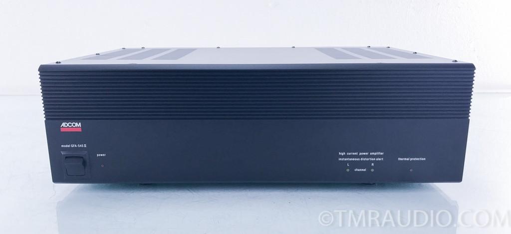 Adcom GFA-545 II Stereo Power Amplifier; GFA-545MKII