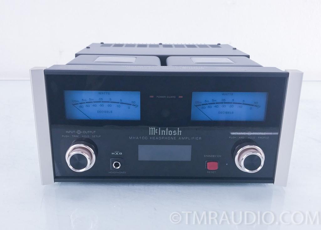 McIntosh MHA100 Integrated Headphone Amplifier w/ DAC; MHA-100