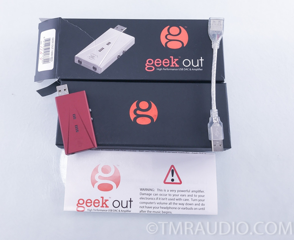 LH Labs Geek Out 1000 USB DAC; D/A Converter; Headphone Amplifier
