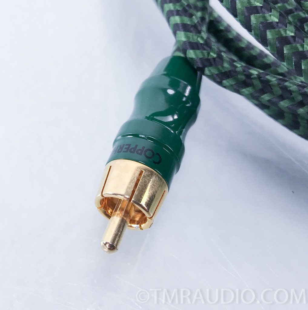 Audioquest Copperhead RCA Cable; Single Interconnect; 15 ft