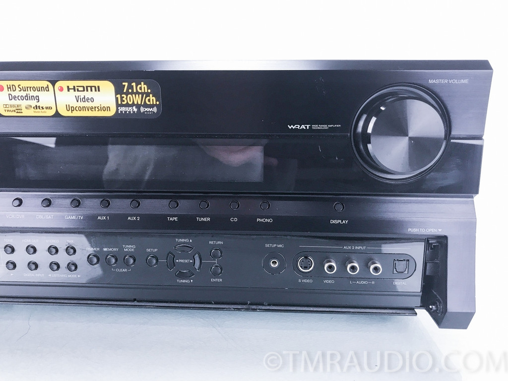 Onkyo TX-SR805 7.1 Channel Home Theater Receiver; AS-IS