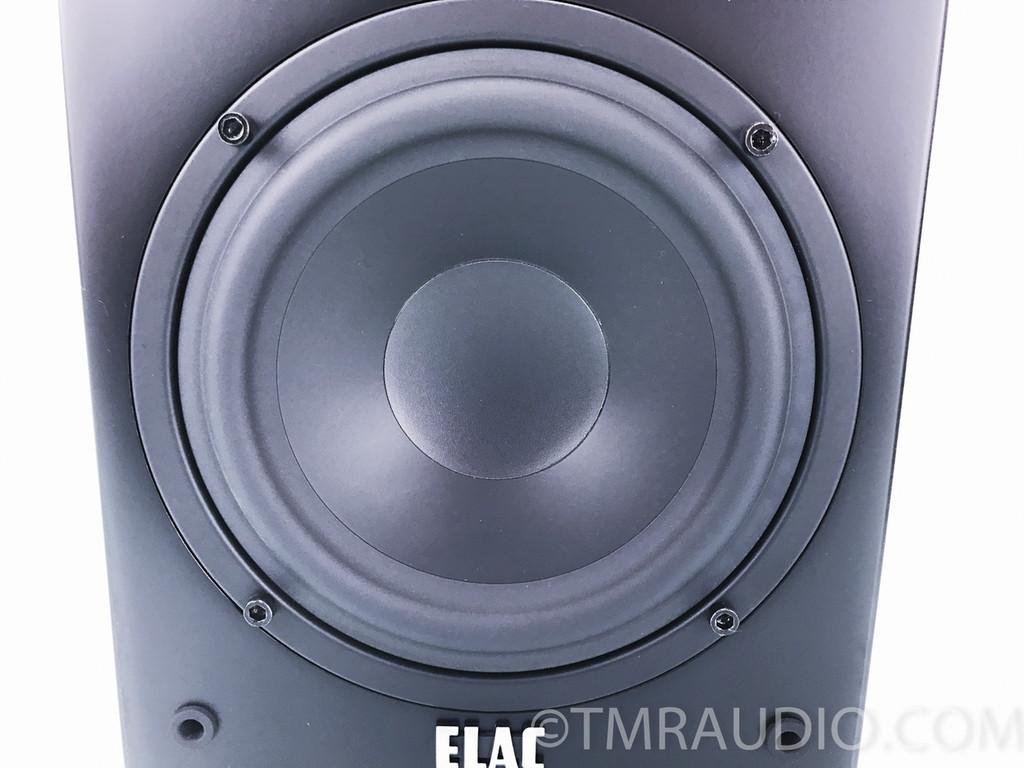 Elac BS-73 Bookshelf Speakers; Matte black; Pair; BS 73; Mint