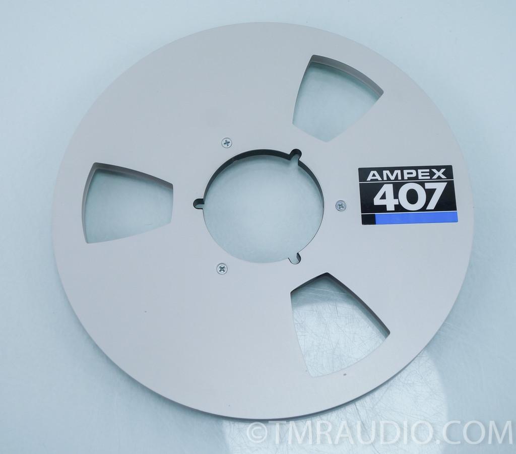 """Ampex 407 10.5"""" Metal Take-Up Reel"""