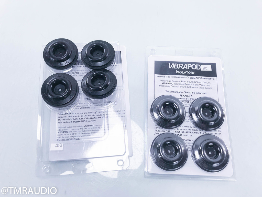 Vibrapod Isolators Vibration Isolating Feet (Set of 4)