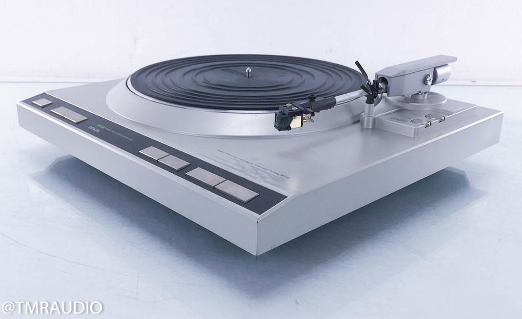 Denon DP-35F Vintage Turntable; Grado ZF1 Cartridge
