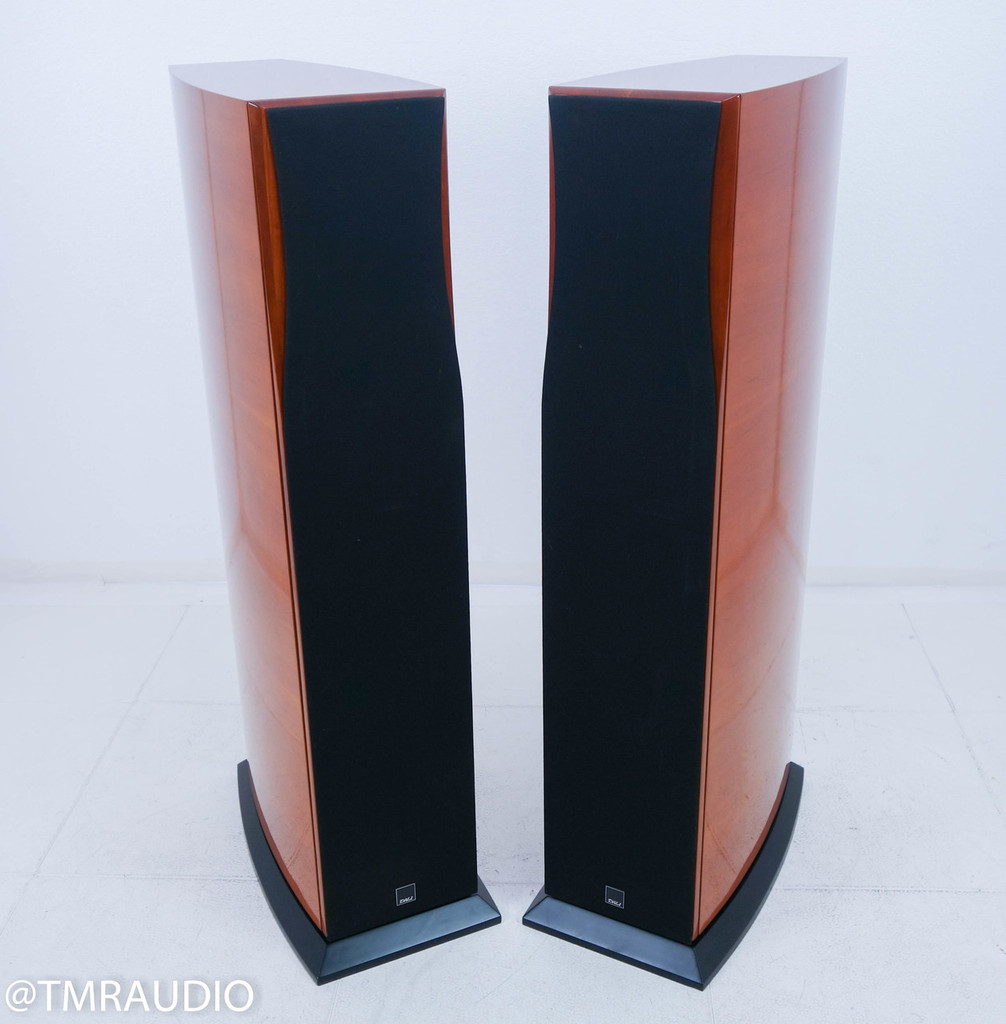 Dali Helicon 400 Floorstanding Speakers; Cherry Pair
