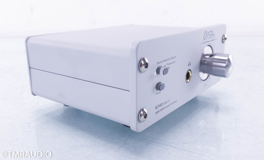 ADL GT40 USB DAC / D/A Converter with Phono Stage