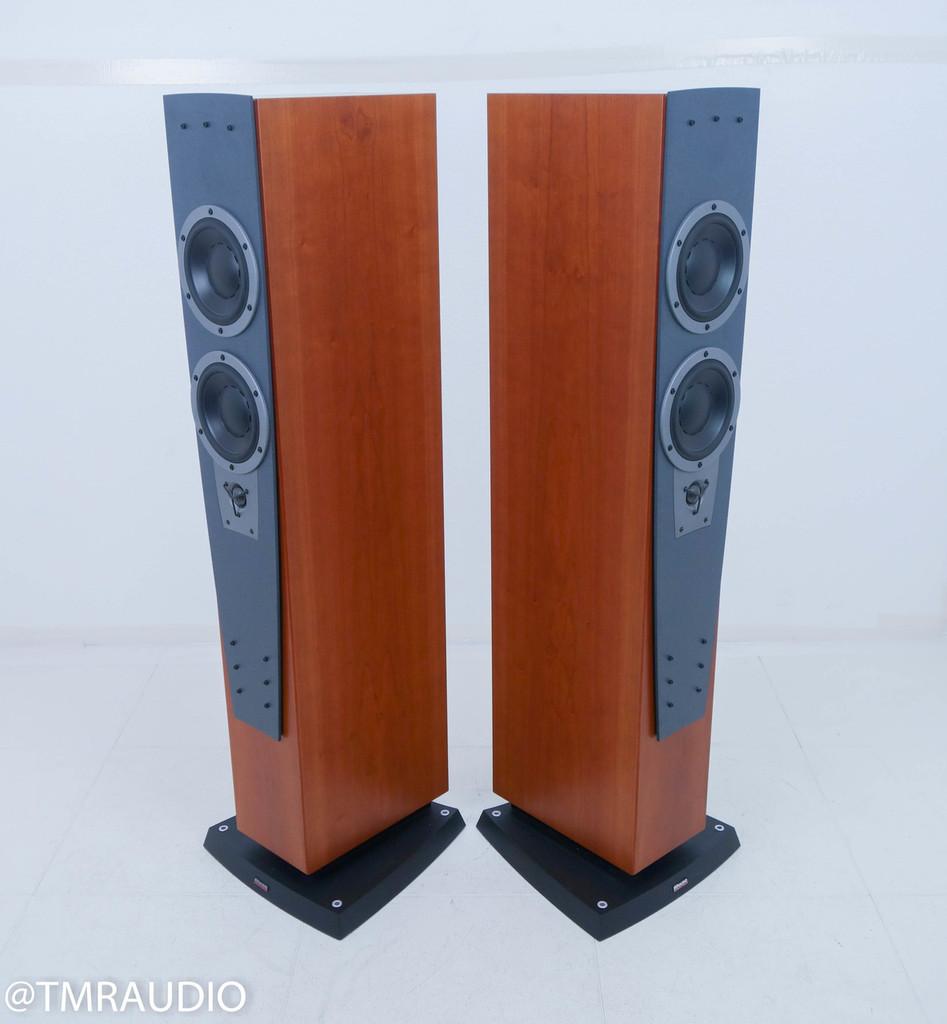 Dynaudio Contour S 3.4 Floorstanding Speakers; Cherry Pair w/ Tweeter Upgrade