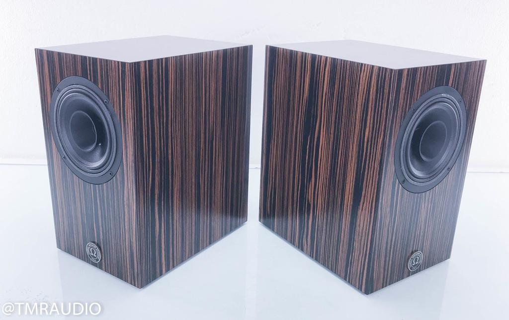 Omega Super 7 MKII; RS7 Omegacone Bookshelf Speakers; Ebony Pair