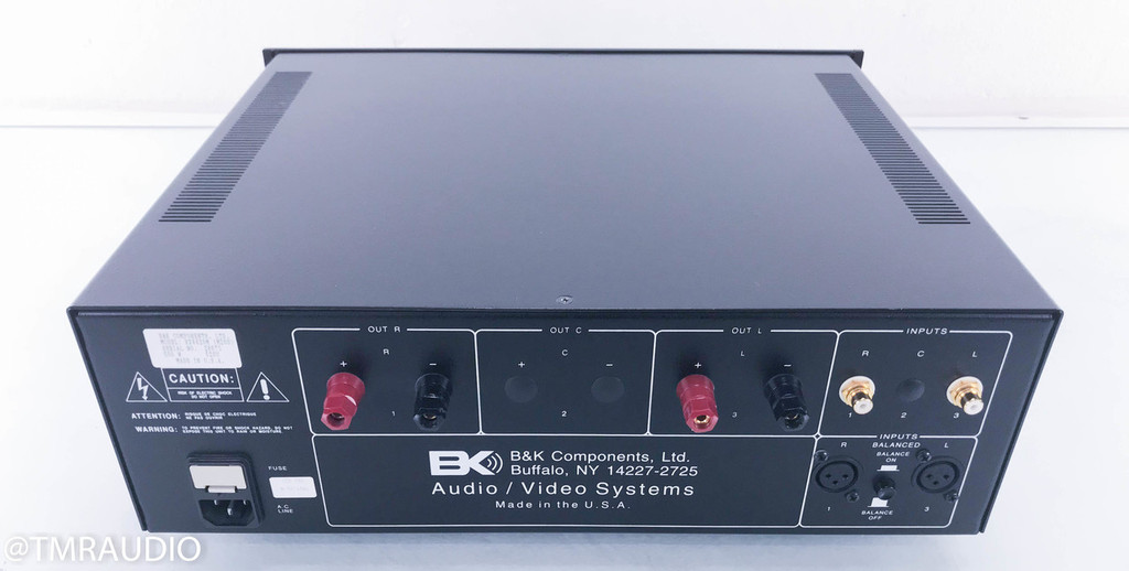 B&K EX4420M Stereo Power Amplifier; EX-4420M 2 Channel