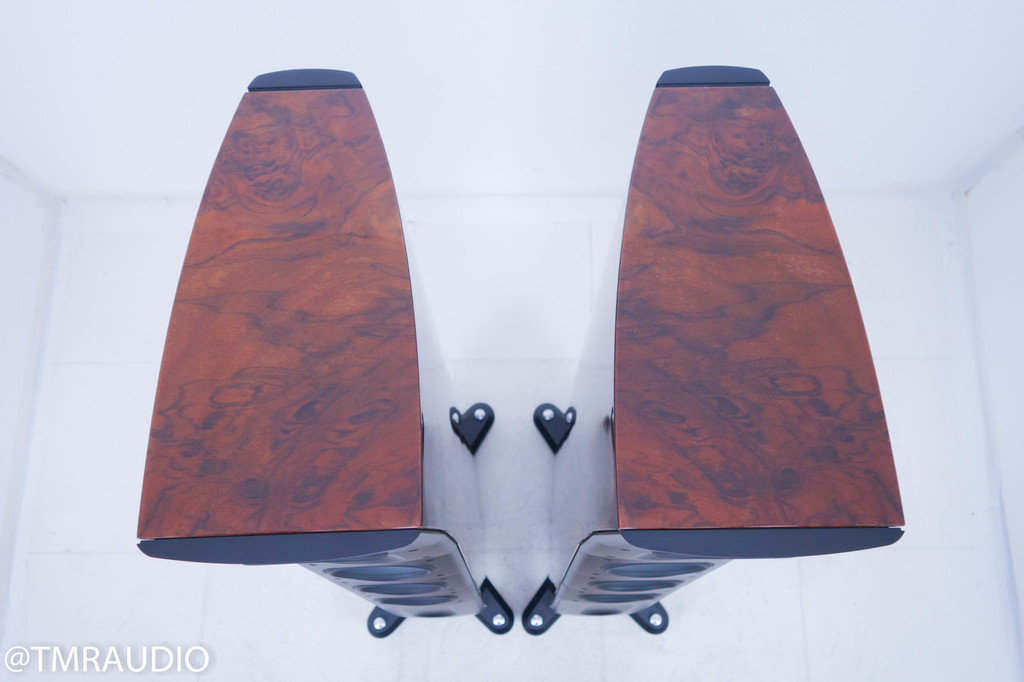 Raidho D-3 Version 2 Floorstanding Speakers; Walnut Pair; D3 v2