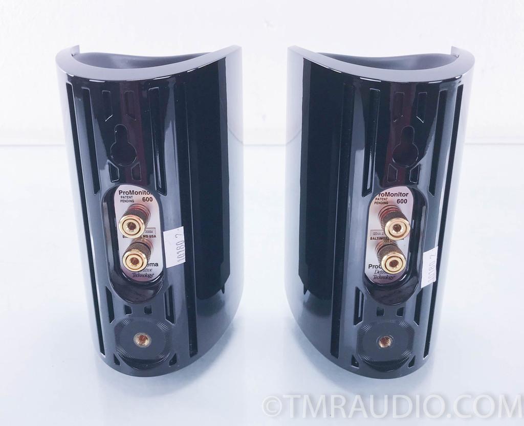 Definitive ProCinema ProMonitor 600 Satellite Speakers; Pair (No Mounts/Hardware)