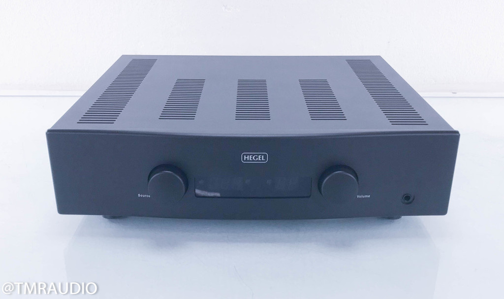 Hegel H160 Stereo Integrated Amplifier; Remote