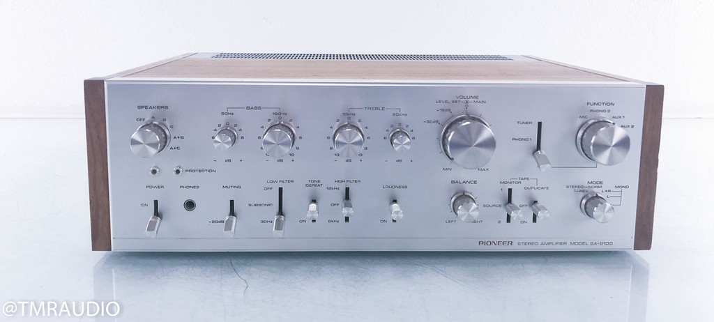 Pioneer SA-9100 Vintage Stereo Integrated Amplifier