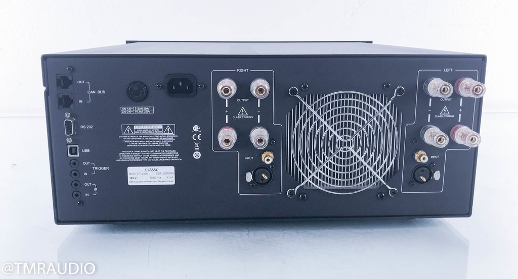 Classe CT-2300 Stereo Power Amplifier