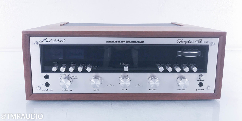 Marantz 2240 Vintage Stereo Receiver w/ Walnut Case; Factory Box; 1 Owner