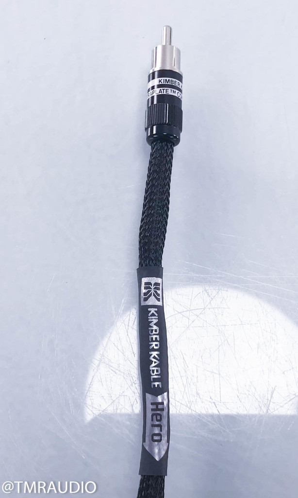 Kimber Kable Ascent Hero RCA Cables; 3m Pair Interconnects (NEW)