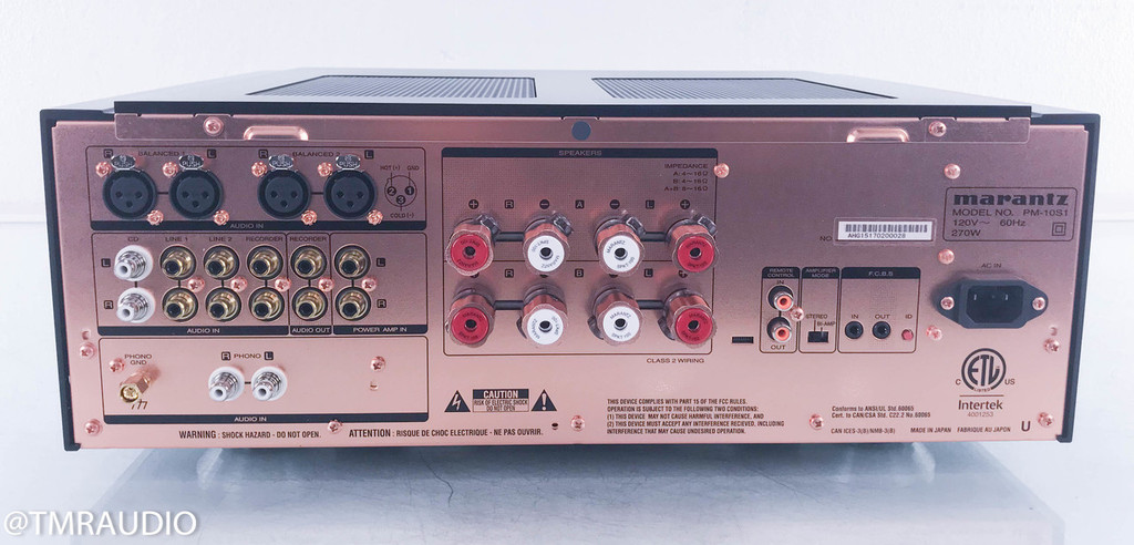 Marantz PM-10 Integrated Stereo Amplifier; MINT