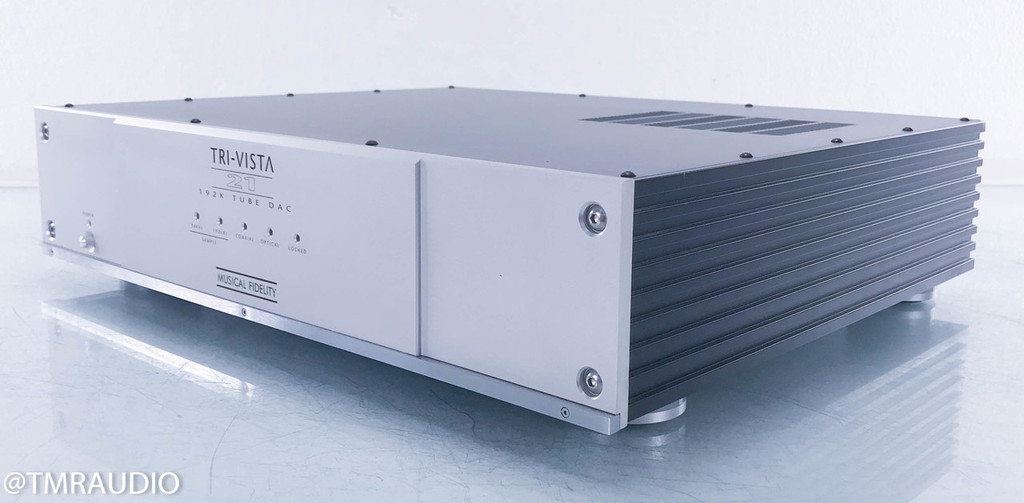 Musical Fidelity Tri-Vista 21 Tube DAC; D/A Converter (1/2)