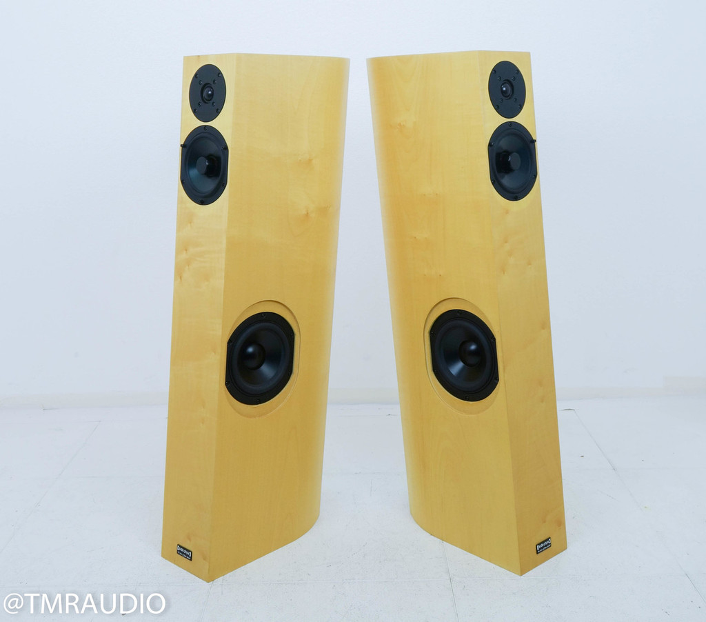 Audio Physic Tempo VI Floorstanding Speakers; Natural Finish Pair