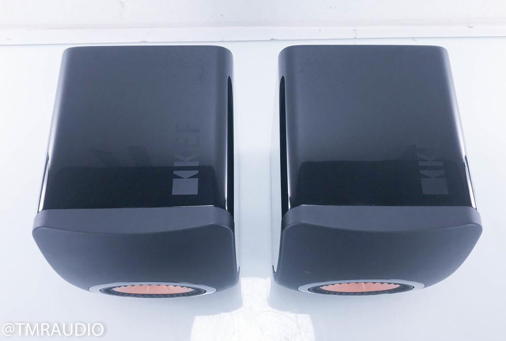 KEF LS50 Bookshelf Speakers; Black Pair LS-50