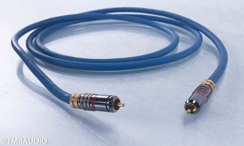 Tributaries A1 Silver RCA cables; 2m Pair Interconnects