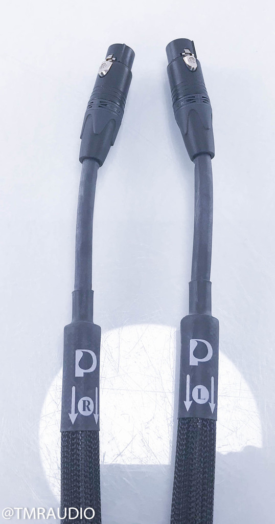 Purist Audio Design Aqueous Aureus Luminist Revision XLR Cables; 1.5m Pair Interconnects