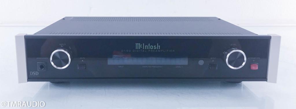 McIntosh D150 Stereo Digital Preamplifier; DAC; D/A Converter