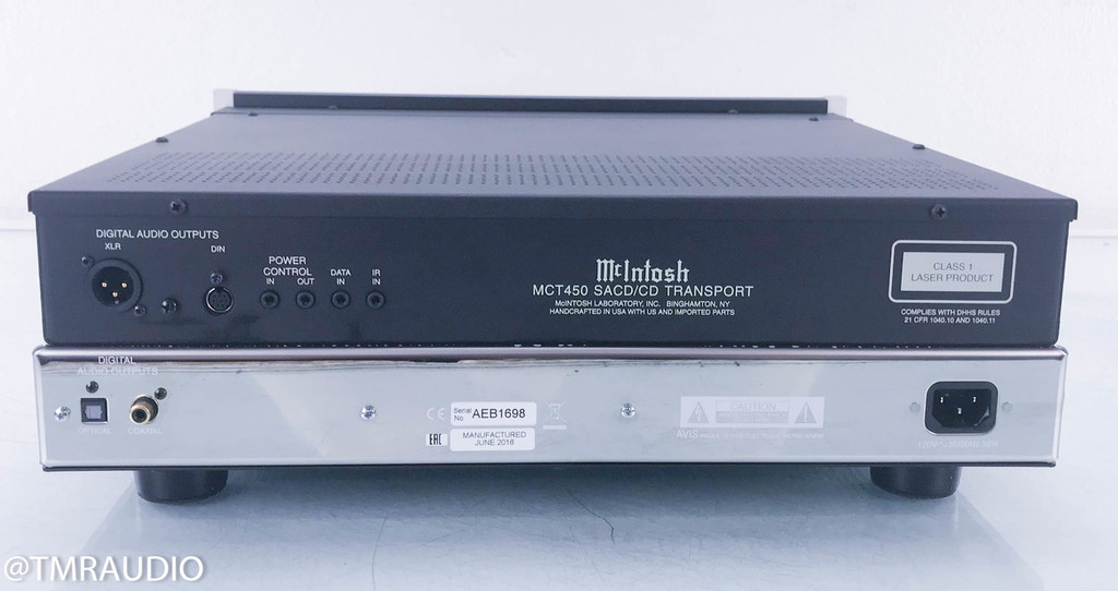 McIntosh MCT450 SACD / CD Transport; MCT-450