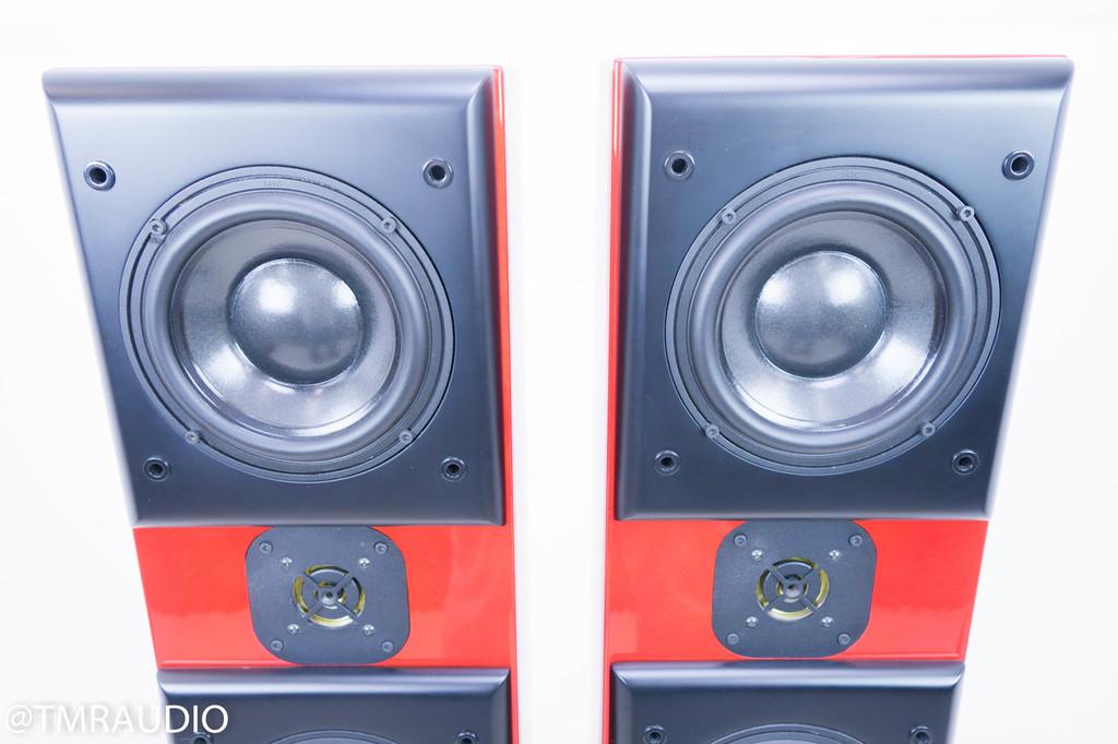 Acoustic Zen Adagio Floorstanding Speakers; Figured Red Pair