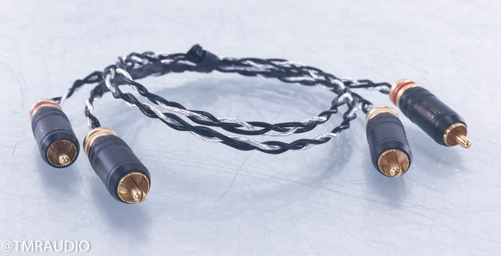 Kimber Kable Silver Streak SE RCA Cables; .5m Pair Interconnects